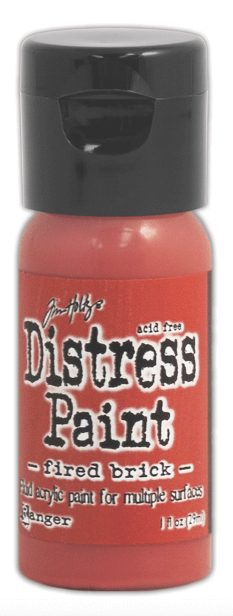 Pintura Acrílica Distress Paint Color Fired Brick - comprar online