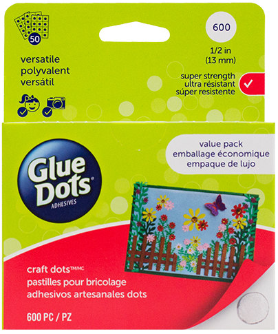 Pegamento en gotas Glue Dots Craft x 600 Value Pack