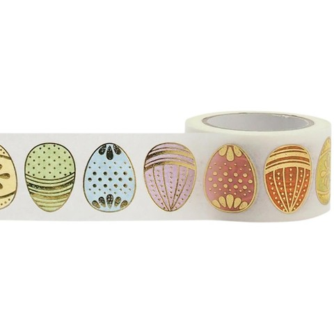 Cinta Decorativa Washi Tape Huevos de Pascua Little B