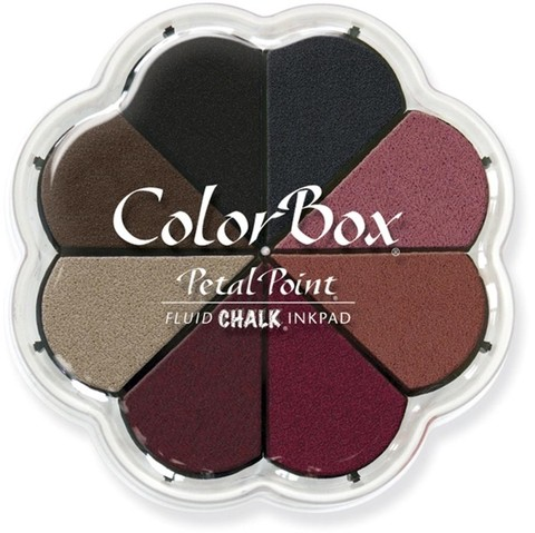 Almohadillas de Tinta ColorBox Fluid Chalk Petal Nightfall