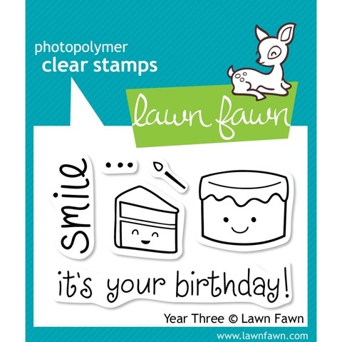 Sellos Happy Birthday Clear Stamp Lawn Fawn