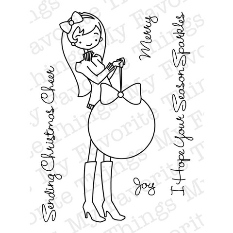 Sello A La Modes My Favorite Things Clear Stamps - comprar online