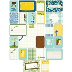 KIT DE 60 TARJETAS PARA PROJECT LIFE BECKY HIGGINS FAMILY