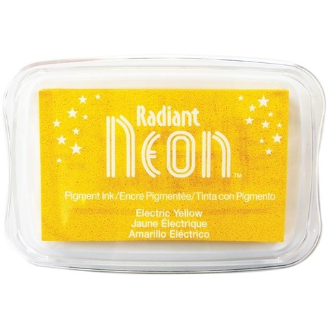 Almohadilla de Tinta Radiant Neon Color Electric Yellow  - comprar online