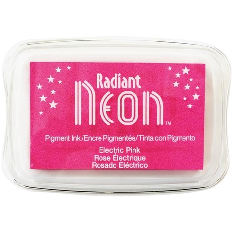 Almohadilla de Tinta Radiant Neon Color Electric Pink