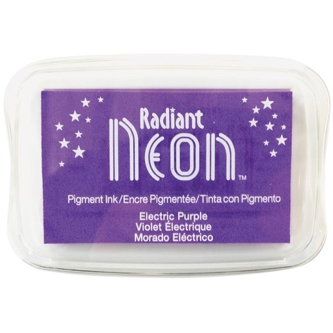 Almohadilla de Tinta Radiant Neon Color Electric Purple