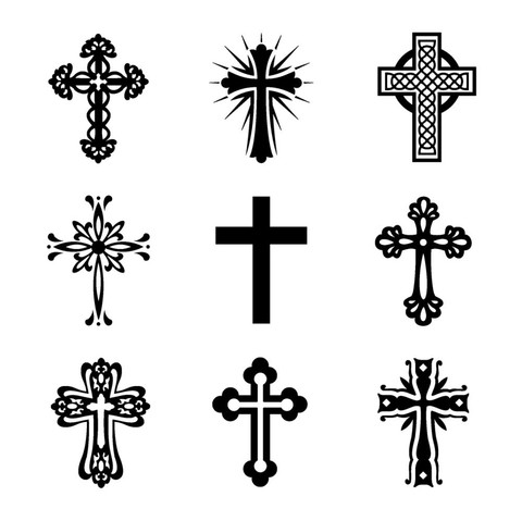 Sellos Cruces Clear Stamp Inkadinkado