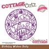 Troqueladora Birthday Wishes Cottage Cutz