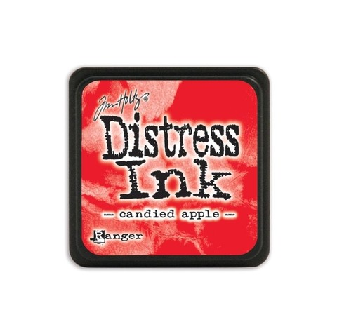 Almohadilla de Tinta Distress Ink Mini Color Candied Apple
