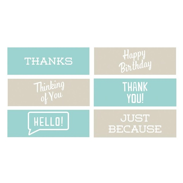 Set de 6 Carpetas Texturizadoras Embossing Frases 2 We R Memory Keepers - comprar online