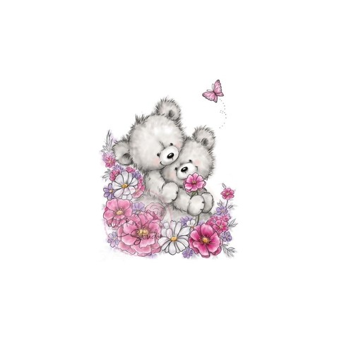 Sello de Bear Hugs Clear Stamp Wild Rose Studio - comprar online