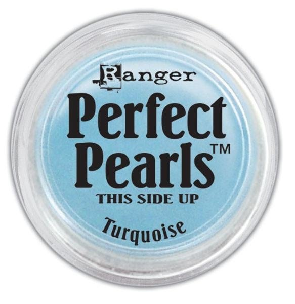 PERFECT PEARLS PIGMENT POWDER COLOR TURQUOISE