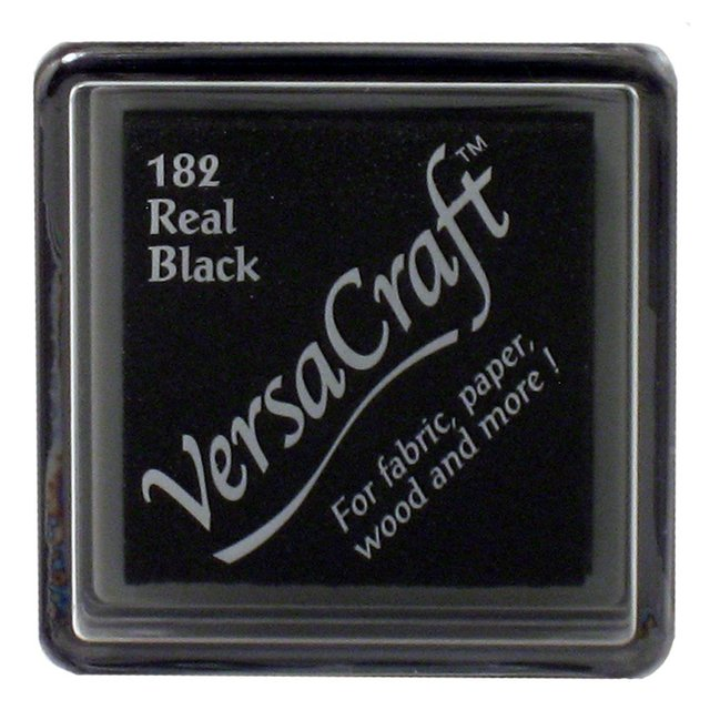 Almohadilla de Tinta para Sellos Versacraft Color Real Black