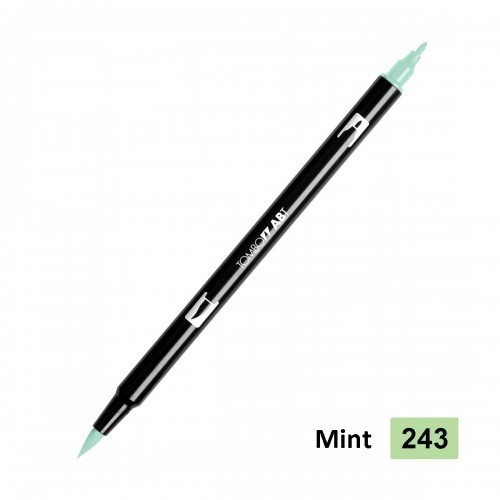 Rotulador punta pincel Tombow Dual Brush 243 Mint - comprar online