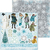 Papel bifaz Winter Playground Noteworthy 30,5 x 30,5cm BoBunny