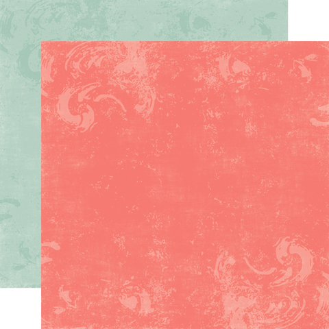 Papel bi-faz Rose/Blue Bird 30,5 x 30,5 cm de 180 gr