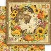 Papel bi-faz Autumn Seasons Collection   30,5 x 30,5 cm de 180 gr Graphic 45