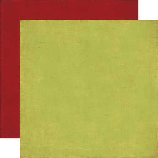 Papel bi-faz Green/Dark Red 30,5 x 30,5 cm de 180 gr