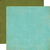 Papel bi-faz Teal/Dark Green 30,5 x 30,5 cm de 180 gr