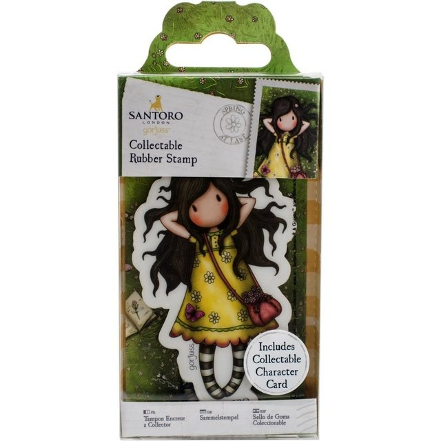 Sellos Cling Stamp Gorjuss # 43 SPRING AT LAST CHICO Santoro
