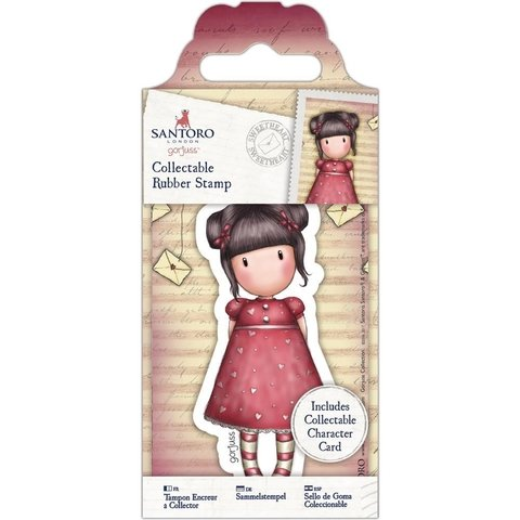 Sellos Cling Stamp Gorjuss Sweetheart Santoro