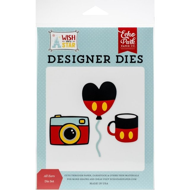 Kit de troqueles All Ears Echo Park Dies - comprar online