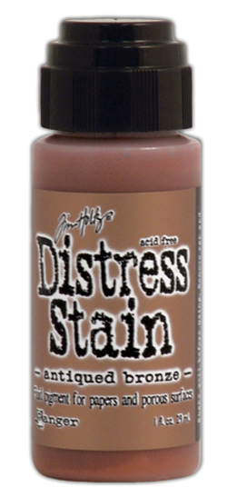 Tinta líquida Distress Stain Color Antique Bronze