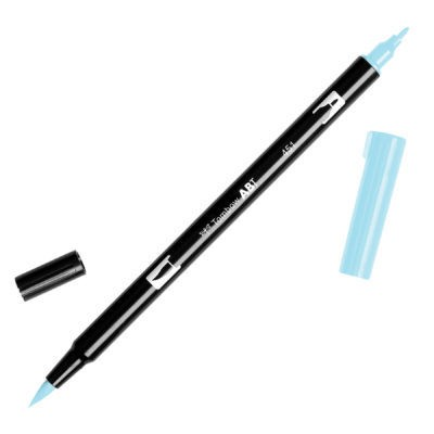 Rotulador punta pincel Tombow Dual Brush 451 Sky Blue