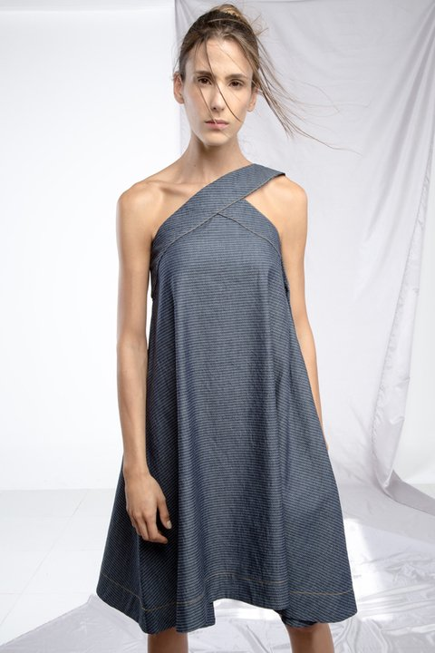 VESTIDO DE DENIM // Ref: SABLE