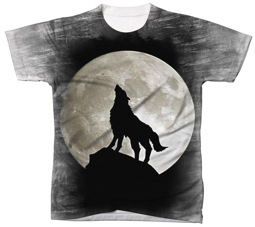 1660cee81c Camisa Camiseta 3D Animal Cachorro Dog Lobo Wolf 2