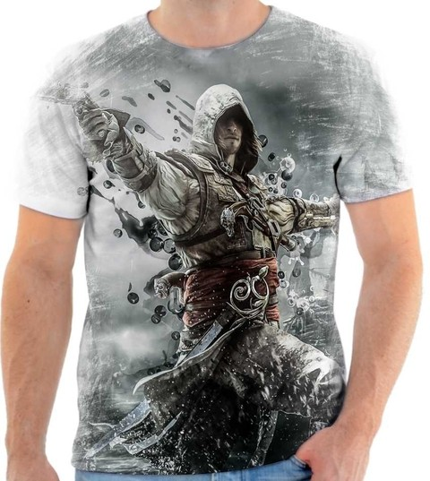 Camiseta Assassins Creed 03 Back