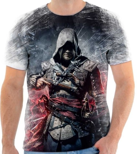Camiseta Assassins Creed - 03 Front