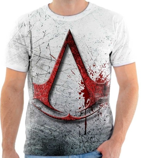 Camiseta Assassins Creed  04  Back