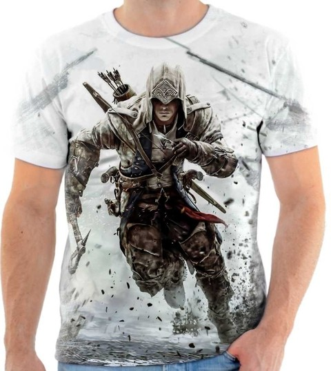 Camiseta Assassins Creed  04 Front