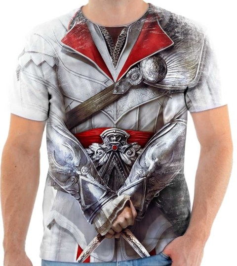 Camiseta Assassins Creed Traje  01