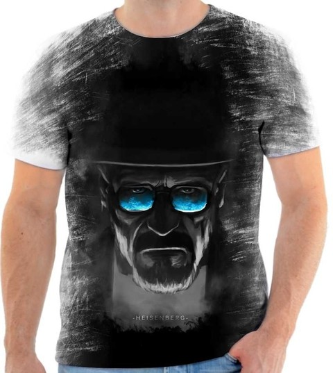 Camiseta Breaking Bad Heisenberg, Walter White