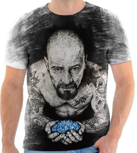 Camiseta Breaking Bad Walter withe Tattoo
