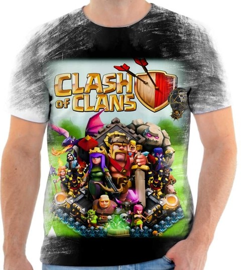 Camiseta Clash of Clans - 01