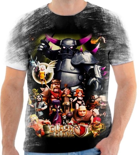 Camiseta Clash of Clans - 02