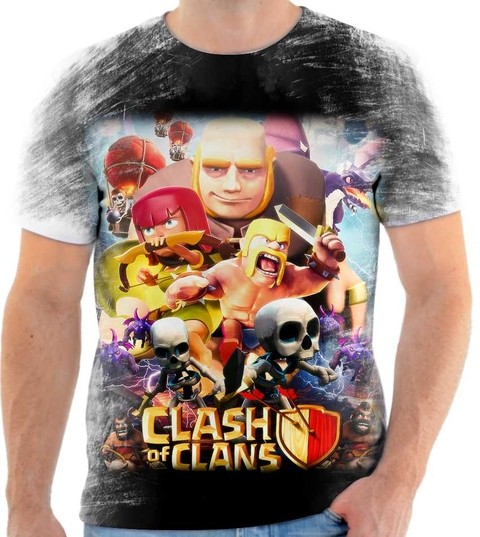 Camiseta Clash of Clans - 03