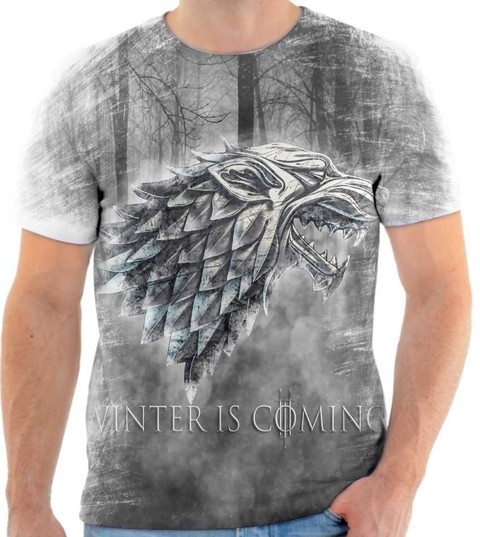 Camiseta Game Of Thrones  01 Back