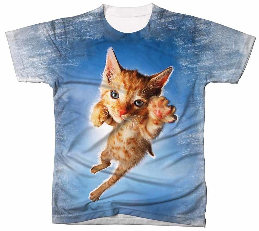 a54a28662f Camiseta Gato Filhote Pelagem Laranja - Camisetas Zurc