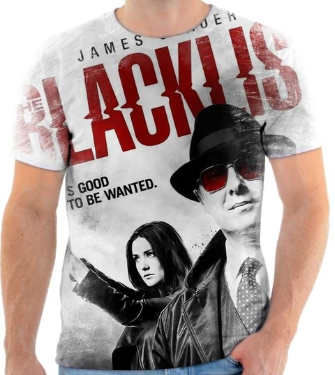 Camiseta The Blacklist - Lista Negra - 03