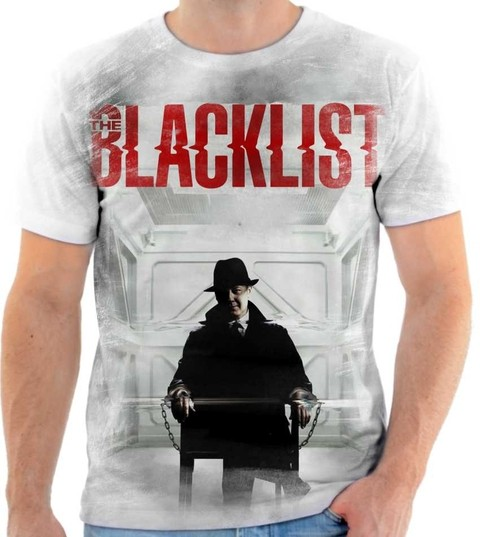Camiseta The Blacklist - Lista Negra - 04
