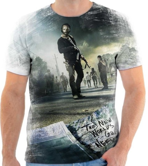 Camiseta The Walking Dead - 02