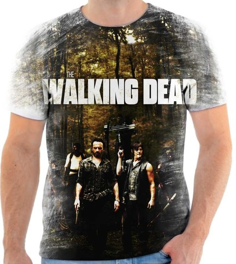 Camiseta The Walking Dead - 07
