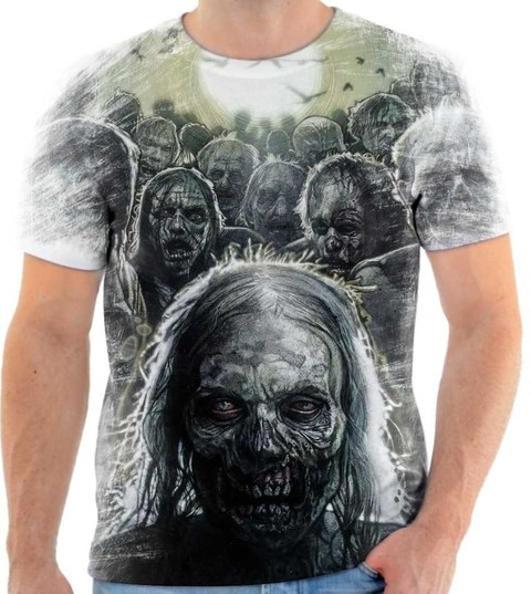 Camiseta The Walking Dead - Zumbi