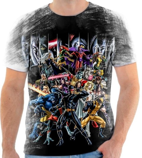 Camiseta X-MEN - Comic 2000