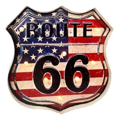 Route 66 - Cartel Luminoso