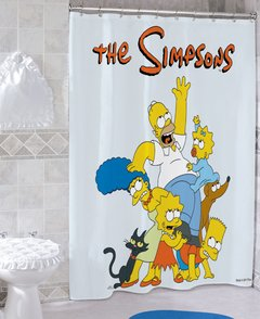 Cortina de baño The Simpsons